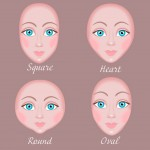Face shape textile doll