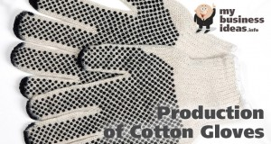 Production of Cotton Gloves