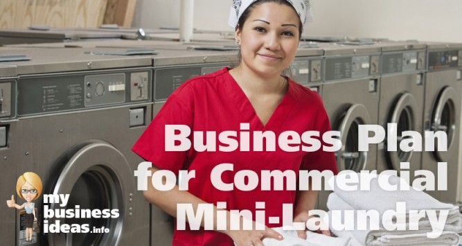 start laundry business