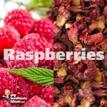 raspberries tea