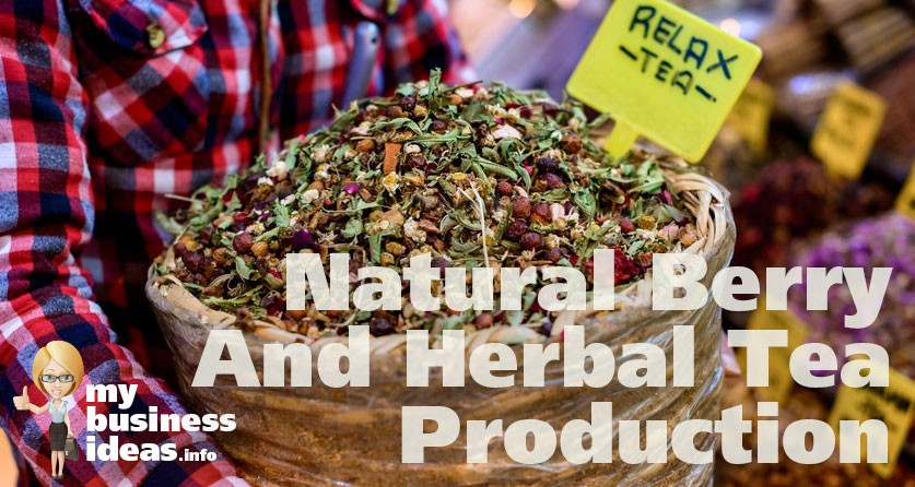 Business Idea Natural Herbal Tea Production
