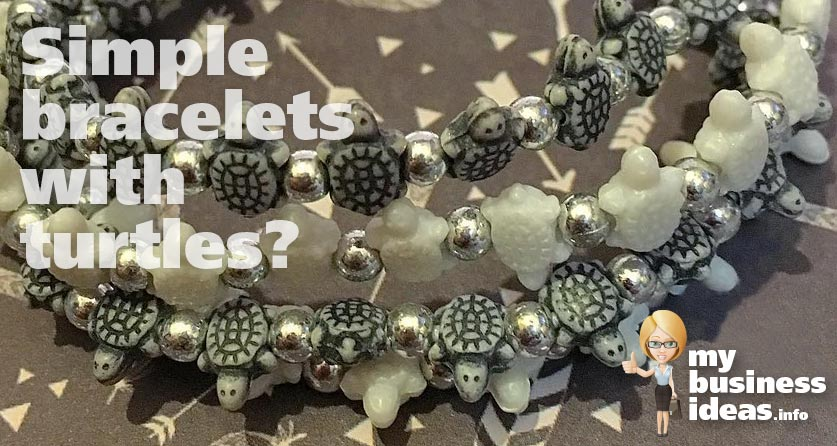 bracelets with turtles